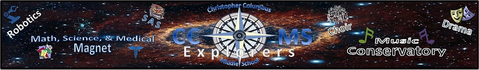 Columbus Middle School  Logo